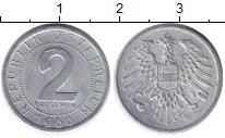 Изображение Дешевые монеты Австрия 2 гроша 1966 Алюминий XF-