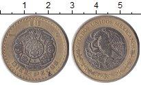 Изображение Монеты Северная Америка Мексика 10 песо 1988 Биметалл XF
