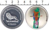 Изображение Монеты Африка Конго 10 франков 2004 Серебро Proof