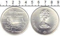 Изображение Монеты Северная Америка Канада 10 долларов 1975 Серебро UNC