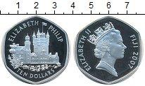 Изображение Монеты Фиджи 10 долларов 2007 Серебро Proof
