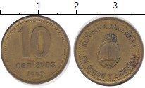 Изображение Дешевые монеты Южная Америка Аргентина 10 сентаво 1992 Латунь XF