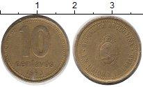 Изображение Дешевые монеты Южная Америка Аргентина 10 сентаво 1993 Латунь XF-