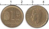 Изображение Дешевые монеты Испания 1 песета 1980