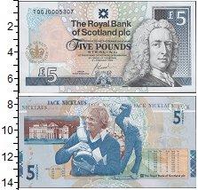 Изображение Банкноты Великобритания Шотландия 5 фунтов 2005  UNC-