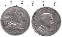 Изображение Монеты Италия 2 лиры 1910 Серебро VF
