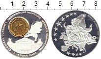 Изображение Монеты Либерия 1 доллар 2002 Посеребрение UNC Европейская  валюта.