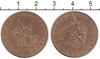 Изображение Монеты Франция 10 франков 1988 Медь UNC