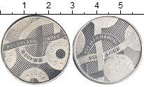 Изображение Монеты Нидерланды 5 евро 2009 Посеребрение Proof 400  лет  дружбы  с
