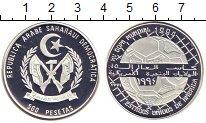 Изображение Монеты Африка Сахара 500 песет 1991 Серебро Proof-