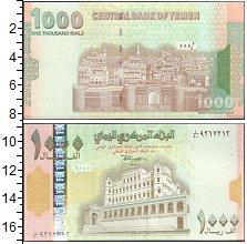 Изображение Банкноты Азия Йемен 1000 риалов 0  UNC-