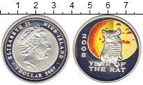 Изображение Монеты Ниуэ 1 доллар 2007 Серебро Proof