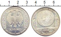 Изображение Монеты Германия ФРГ 10 евро 2008 Серебро UNC-