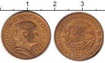 Изображение Дешевые монеты Мексика 5 сентаво 1971 Латунь XF+