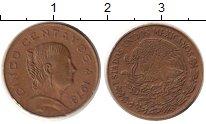 Изображение Дешевые монеты Мексика 5 сентаво 1978 Латунь XF