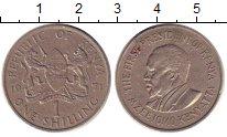 Изображение Дешевые монеты Африка Кения 1 шиллинг 1971 Медно-никель XF