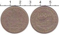 Изображение Дешевые монеты Азия Индонезия 100 рупий 1978 Медно-никель XF-