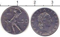 Изображение Дешевые монеты Италия 100 лир 1993 Сталь XF-