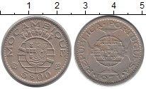 Изображение Монеты Африка Мозамбик 5 эскудо 1971 Медно-никель VF