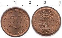 Изображение Мелочь Тимор 50 сентаво 1970 Медь XF