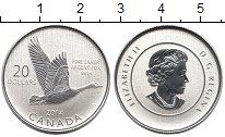 Изображение Монеты Северная Америка Канада 20 долларов 2014 Серебро Proof