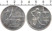 Изображение Монеты Европа Финляндия 50 марок 1982 Серебро UNC