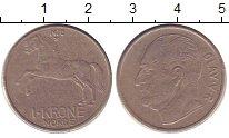 Изображение Дешевые монеты Норвегия 1 крона 1970 Медно-никель XF