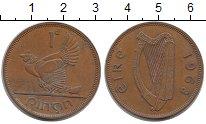 Изображение Монеты Европа Ирландия 1 пенни 1968 Бронза XF