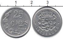 Изображение Монеты Люксембург 25 сантим 1954 Алюминий XF