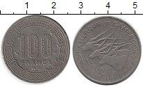 Изображение Монеты Камерун 100 франков 1975 Медно-никель VF