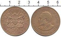 Изображение Монеты Кения 10 центов 1971 Латунь XF