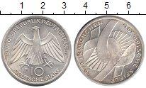 Изображение Монеты ФРГ 10 марок 1972 Серебро UNC-