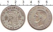 Изображение Монеты Европа Великобритания 1/2 кроны 1938 Серебро XF
