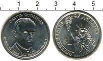 Изображение Мелочь Северная Америка США 1 доллар 2014 Медно-никель UNC