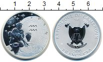 Изображение Мелочь Камерун 500 франков 2010 Серебро Proof