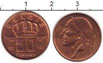 Изображение Дешевые монеты Бельгия 50 сентим 1985 Латунь XF