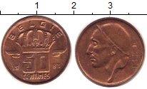 Изображение Дешевые монеты Бельгия 50 сантим 1983 Латунь XF