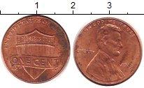 Изображение Дешевые монеты США 1 цент 2013 Латунь XF