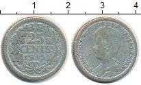 Изображение Монеты Европа Нидерланды 25 центов 1915 Серебро VF