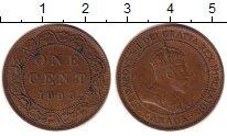 Изображение Монеты Северная Америка Канада 1 цент 1903 Бронза XF