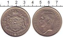 Изображение Монеты Бельгия 20 франков 1931 Никель XF Альберт.