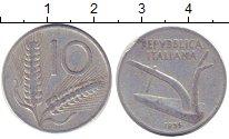 Изображение Дешевые монеты Европа Италия 10 сольди 1953 Алюминий XF