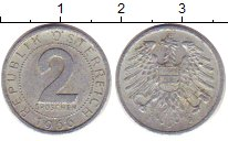 Изображение Дешевые монеты Европа Австрия 2 гроша 1966 Медно-никель XF