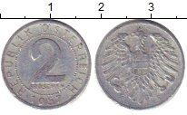 Изображение Дешевые монеты Европа Австрия 2 гроша 1957 Медно-никель XF