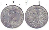 Изображение Дешевые монеты Австрия 2 гроша 1954 Медно-никель XF