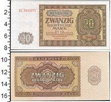 Изображение Банкноты Европа Германия 20 марок 1948  XF