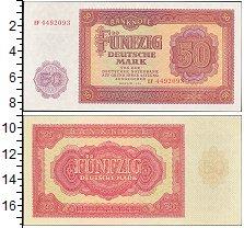 Изображение Банкноты ГДР 50 марок 1955  XF