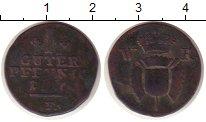 Изображение Монеты Германия Шаумбург-Липпе 1 пфенниг 1806 Медь VF