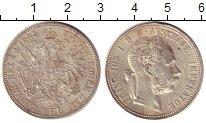 Изображение Монеты Европа Австрия 1 флорин 1884 Серебро XF