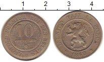 Изображение Монеты Бельгия 10 сантим 1862 Медно-никель XF